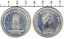 Изображение Монеты Канада 1 доллар 1977 Серебро UNC