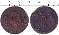 Изображение Монеты 1762 – 1796 Екатерина II 2 копейки 1771 Медь VF