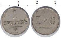 Изображение Монеты Суринам 1 стюйвер 0 Медно-никель XF Токен.