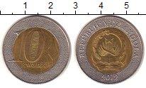 Изображение Монеты Ангола 10 кванза 2012 Биметалл XF