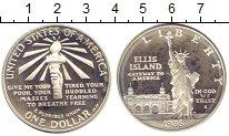 Изображение Монеты США 1 доллар 1986 Серебро Proof-