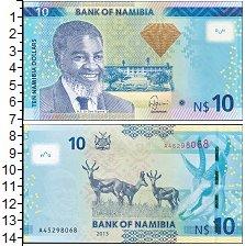 Изображение Боны Намибия 10 долларов 0  UNC