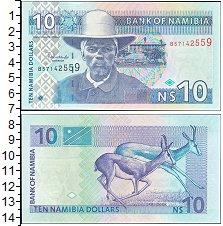 Изображение Банкноты Намибия 10 долларов 2001  UNC