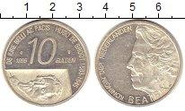 Изображение Монеты Нидерланды 10 гульденов 1995 Серебро Proof-