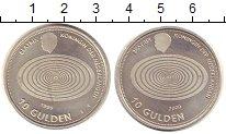 Изображение Монеты Нидерланды 10 гульденов 1999 Серебро UNC