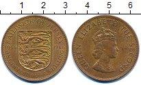 Изображение Монеты Остров Джерси 1/12 шиллинга 1966 Бронза VF
