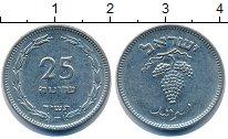 Изображение Монеты Израиль 25 прут 1949 Медно-никель VF