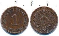 Изображение Монеты Германия 1 пфенниг 1912 Бронза XF