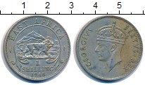 Изображение Монеты Восточная Африка 1 шиллинг 1948 Медно-никель XF Георг VI.  Африканск