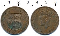 Изображение Монеты Остров Джерси 1/12 шиллинга 1947 Бронза VF