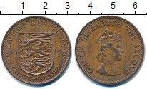 Изображение Монеты Остров Джерси 1/12 шиллинга 1964 Бронза VF