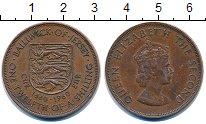 Изображение Монеты Остров Джерси 1/12 шиллинга 1960 Бронза VF