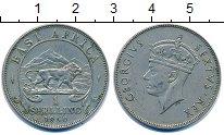 Изображение Монеты Восточная Африка 1 шиллинг 1950 Медно-никель XF Георг VI.  Африканск