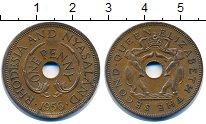 Изображение Монеты Родезия 1 пенни 1956 Бронза XF