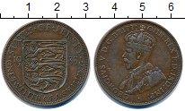 Изображение Монеты Остров Джерси 1/12 шиллинга 1935 Бронза VF