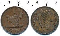 Изображение Монеты Ирландия 1 пенни 1937 Бронза XF