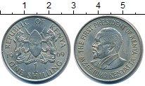 Изображение Монеты Кения 1 шиллинг 1969 Медно-никель XF Президент  Мзее  Кен