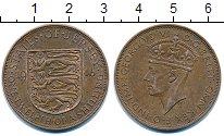 Изображение Монеты Остров Джерси 1/12 шиллинга 1946 Бронза VF