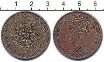 Изображение Монеты Остров Джерси 1/12 шиллинга 1945 Бронза VF