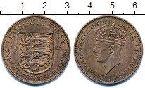 Изображение Монеты Остров Джерси 1/12 шиллинга 1946 Бронза XF