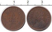 Изображение Монеты Индия 1/12 анны 1886 Бронза XF