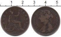 Изображение Монеты Великобритания 1/2 пенни 1891 Бронза VF