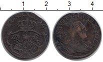Изображение Монеты Польша 1 грош 1754 Медь VF
