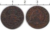 Изображение Монеты Польша 1 грош 1755 Медь VF