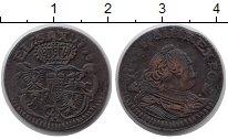 Изображение Монеты Польша 1 грош 1756 Медь VF