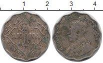 Изображение Монеты Индия 1 анна 1914 Медно-никель XF-