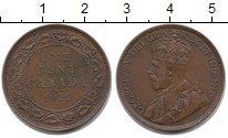Изображение Монеты Канада 1 цент 1915 Бронза XF