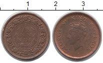 Изображение Монеты Индия 1/12 анны 1939 Бронза XF