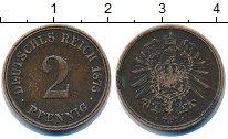 Изображение Монеты Германия 2 пфеннига 1875 Медь VF