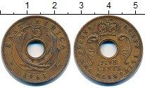 Изображение Монеты Западная Африка 5 центов 1963 Бронза VF