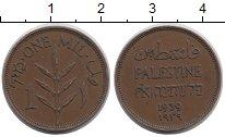 Изображение Монеты Палестина 1 милс 1939 Бронза XF