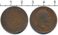 Изображение Монеты Индия 1/4 анны 1906 Медь VF