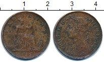 Изображение Монеты Великобритания 1 фартинг 1891 Бронза VF