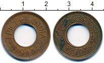 Изображение Монеты Индия 1 пайс 1945 Бронза XF