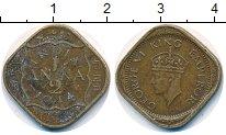 Изображение Монеты Индия 1/2 анны 1944 Медно-никель VF