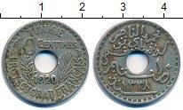 Изображение Монеты Тунис 10 сентим 1920 Медно-никель XF