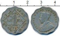 Изображение Монеты Индия 1 анна 1936 Медно-никель XF