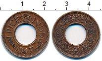 Изображение Монеты Индия 1 пайс 1947 Бронза XF
