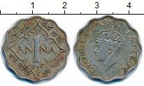 Изображение Монеты Индия 1 анна 1940 Медно-никель XF