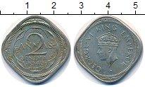 Изображение Монеты Индия 2 анны 1946 Медно-никель VF