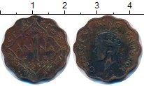 Изображение Монеты Индия 1 анна 1944 Бронза VF
