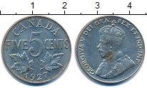 Изображение Монеты Канада 5 центов 1927 Медно-никель XF Георг V