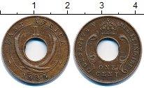 Изображение Монеты Великобритания Восточная Африка 1 цент 1935 Бронза XF
