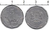 Изображение Монеты Сомали 5 сентим 1976 Алюминий XF ФАО.