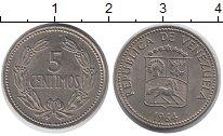 Изображение Монеты Венесуэла Венесуэла 1964 Медно-никель XF