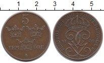 Изображение Монеты Швеция 5 эре 1958 Бронза XF